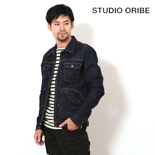 STUDIO ORIBE スタジオオリベ ジージャック Gジャン デニムジェット デニム アウター ジャケット