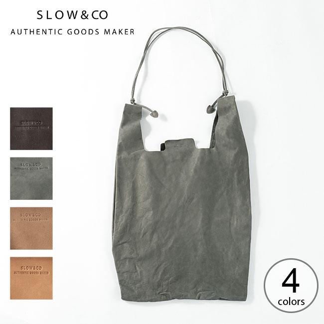 値下げ 2021 春夏 スロウ 2ウェイグローサリーショッパー 最新号掲載アイテム SLOW 2way grocery shopper 49S260J エコバッグ アウトドア トート 鞄 革 正規品 レザー サブバッグ