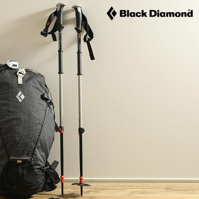 ブラックダイヤモンド トラバースポール Black Diamond TRAVERSE POLES メンズ レディース 【送料無料】 トレッキングポール ポール トレイル オールアルミシャフト 伸縮 収納 バックカントリー スキー BD42008 17FW