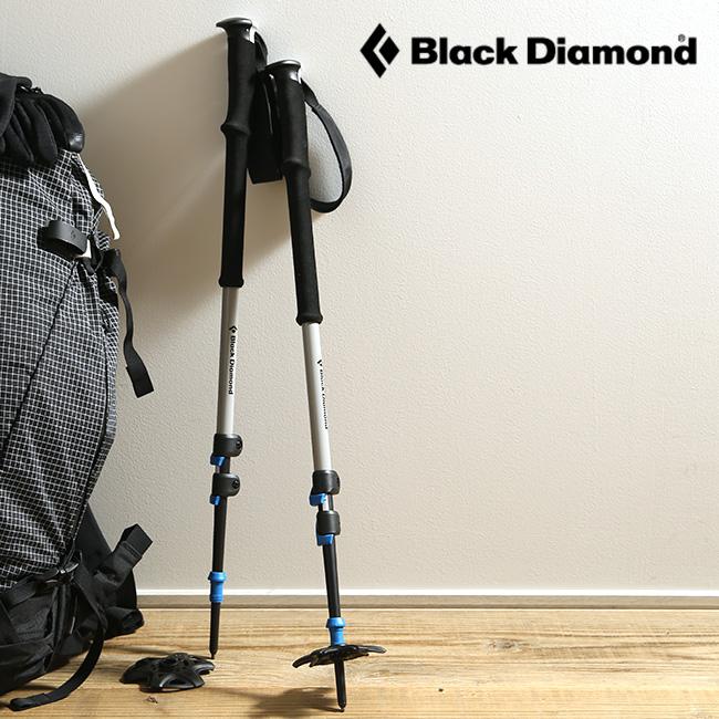 ブラックダイヤモンド エクスペディション3 Black Diamond EXPEDITION 3 トレッキングポール スキーポール ポール 3段 4シーズン トレイル バックカントリー BD42009 <2018 秋冬>