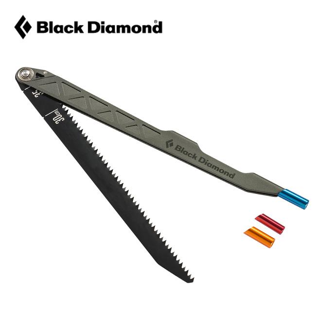 ブラックダイヤモンド スノーソウプロ Black Diamond snow saw pro スノーソウ のこぎり スチール ブレード 装着 携帯 雪 除雪 ピット BD43051 <2018 秋冬>