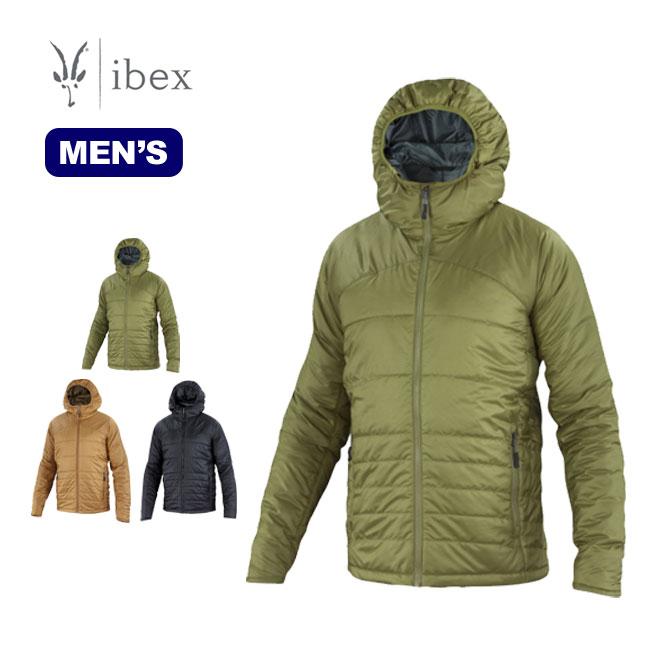 ibex アイベックス メンズ ウールエアーフーディー ダウン ジャケット アウター メンズ 登山 アウトドア スキー スノーボード クイックスダウン