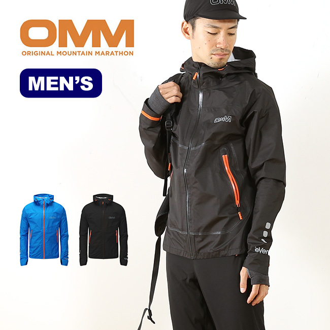 オリジナルマウンテンマラソン イーサージャケット OMM Aether Jacket メンズ ジャケット シェルジャケット アウトドア 春夏