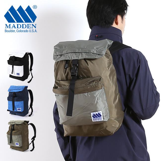 MADDEN メデン マークスマン カラーブロック【送料無料】アウトドア リュック 通勤 通学 デイ パック