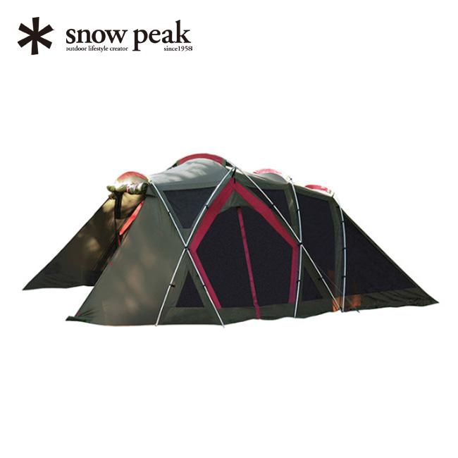スノーピーク リビングシェルロング Pro. [4-6人用] snow peak Living Shell Long Pro. タープ テント シェル アウトドア キャンプ 宿泊 ファミリー TP-660 <2018 春夏>