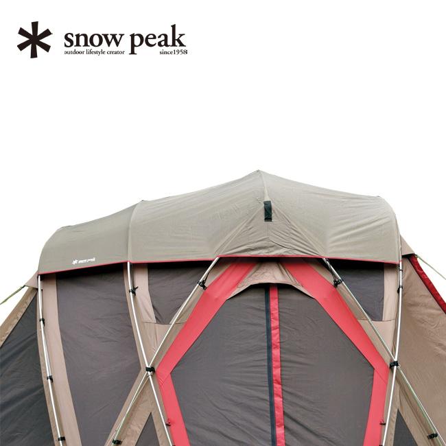 スノーピーク リビングシェル ロング Pro. シールドルーフ snow peak Living Shell Long Pro. Shield Roof リビングシェルオプション ルーフ アウトドア テント キャンプ 寝室 遮光 TP-660SR <2018 春夏>