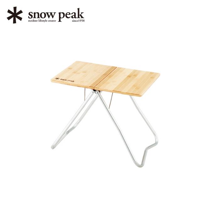 スノーピーク Myテーブル竹 snow peak MyTable Bamboo Top アウトドア 折りたたみテーブル キャンプ バーベキュー LV-034T <2019 春夏>