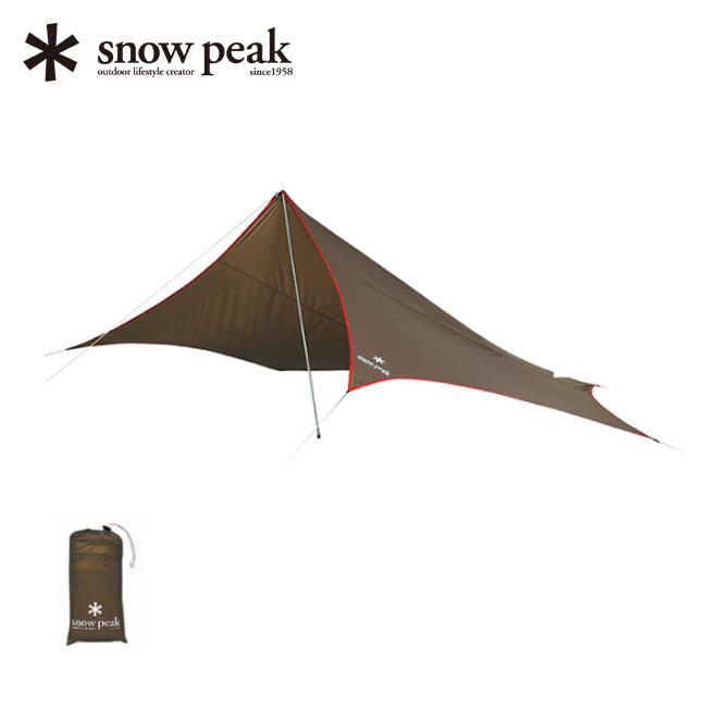 スノーピーク ライトタープ ペンタシールド snow peak Light Tarp Penta Shield タープ ワンポールタープ テント ペンタ ソロテント 1人用 STP-381 <2019 春夏>