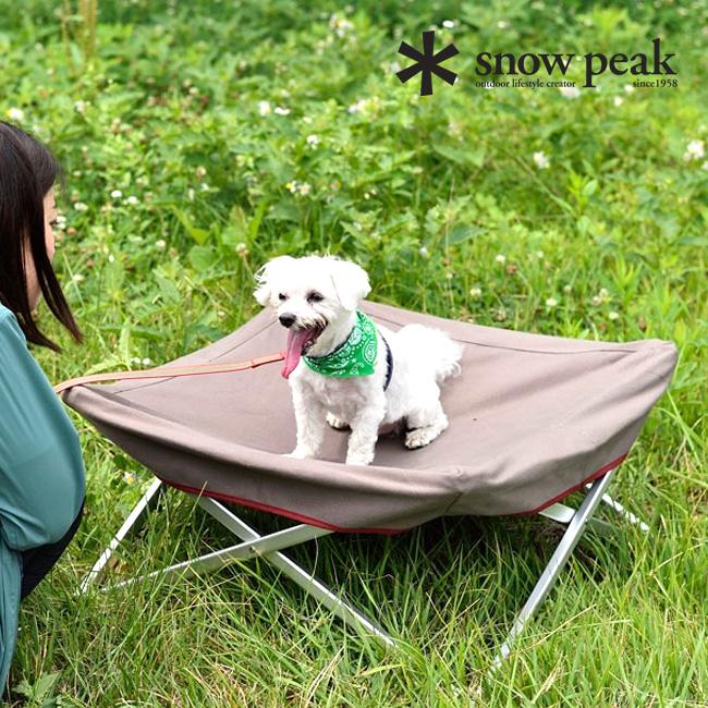 スノーピーク ドッグコット snow peak Dog Cot ペット用品 犬 ベッド コット 折りたたみ アウトドア キャンプ PT-042 <2018 春夏>