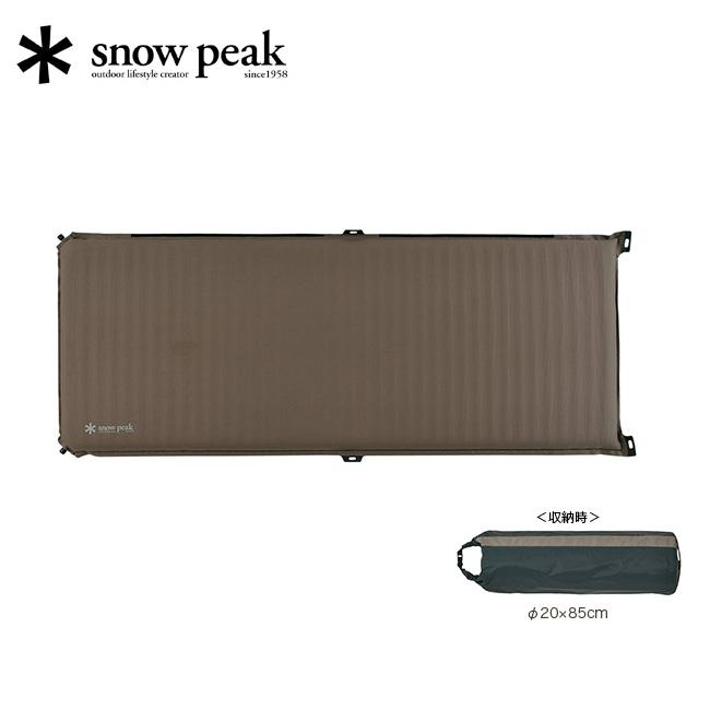 スノーピーク キャンピングマット2.5w snow peak TM-193 キャンプ マット 寝袋 極圧 シュラフ オフトン アウトドア <2020 春夏>