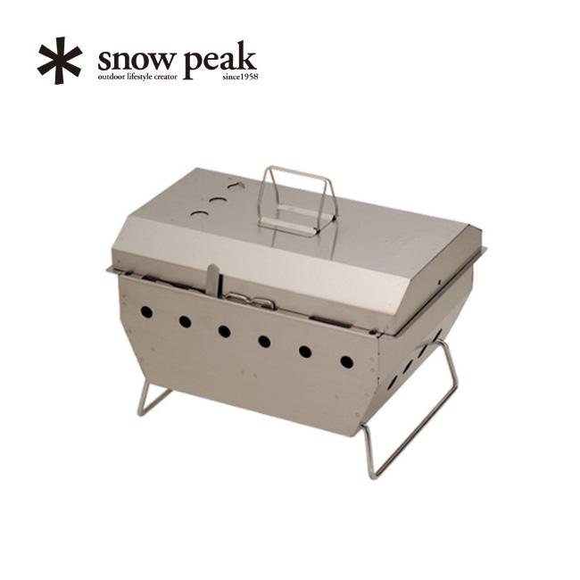 スノーピーク IGTシステム BBQBOX 焼武者 snow peak IGT BBQ Box 調理器具 グリル アウトドア キャンプ バーベキュー アイアングリルテーブル CK-130 <2018 春夏>