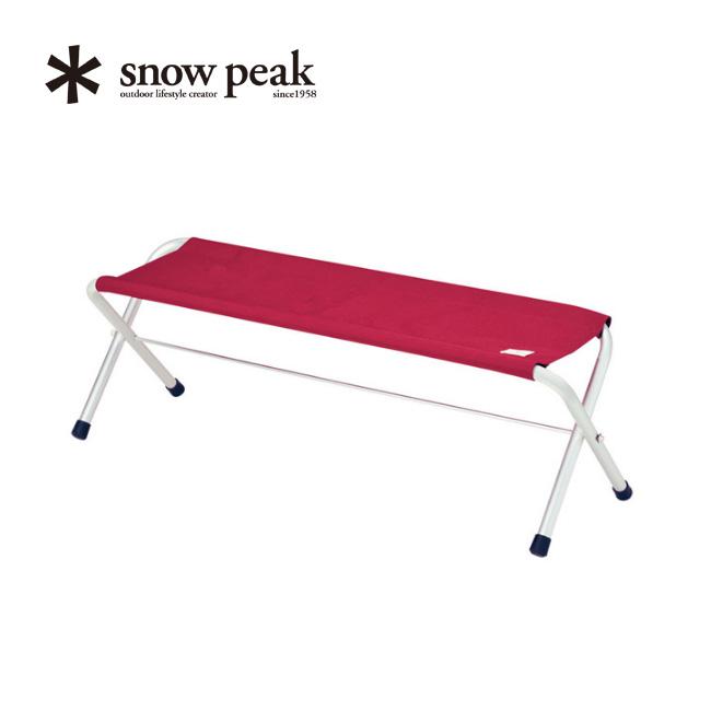 スノーピーク FD ベンチ RD snow peak FD Bench RD ベンチ チェア アウトドア キャンプ スポーツ LV-071RD <2018 春夏>