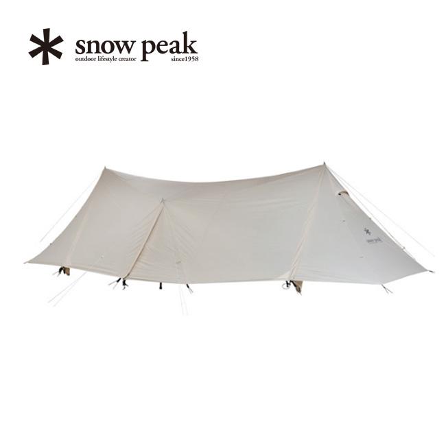 スノーピーク ランドステーションL アイボリー snow peak Land Station L Ivory TP-821IV テント シェルター アウトドア キャンプ 宿泊 6人~8人用 <2020 春夏>