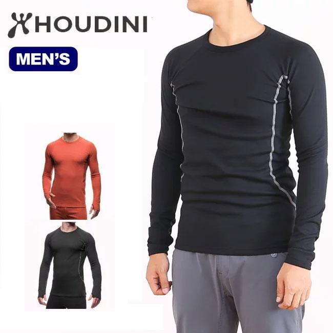 HOUDINI フーディニ アルファクルー 【メンズ】 ベースレイヤー 保温性 ミッドレイヤー 登山 クライミング トレッキング ツーリング バイク