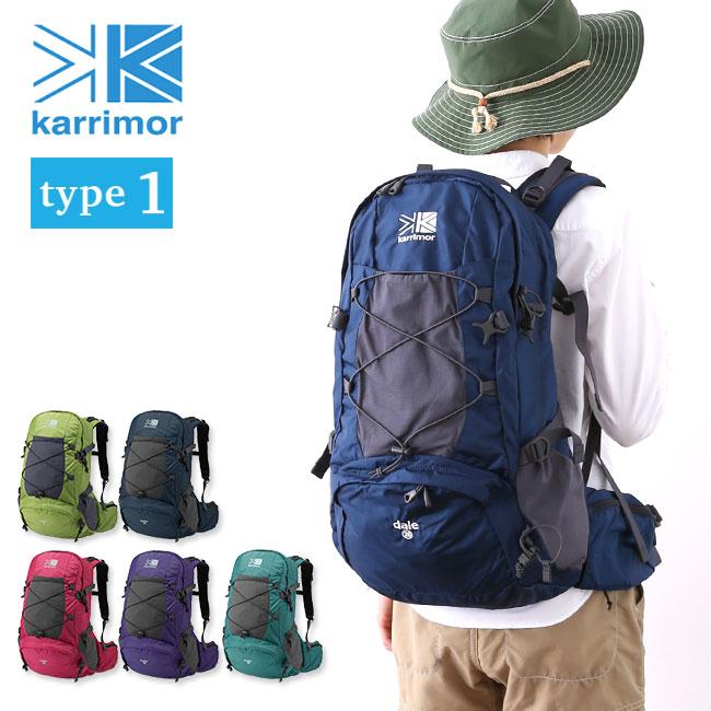 カリマー デール28 タイプ1 karrimor dale 28 type1 バックパック リュック リュックサック ザック 登山用リュック レディース 女性用 28L