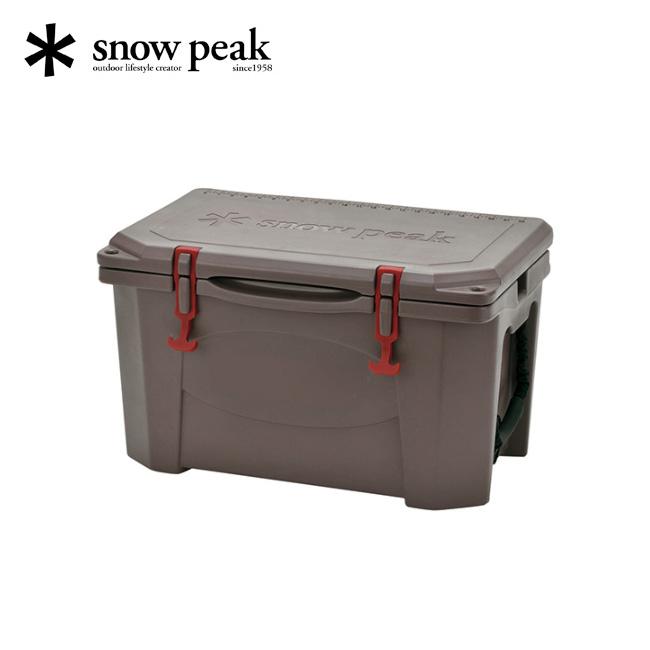 スノーピーク ハードロッククーラー 40QT snow peak Hard Rock Cooler 40QT 38リットル 釣り キャンプ バーベキュー アウトドア クーラーボックス YETI イエティ グリズリー Grizzly <2018 春夏>