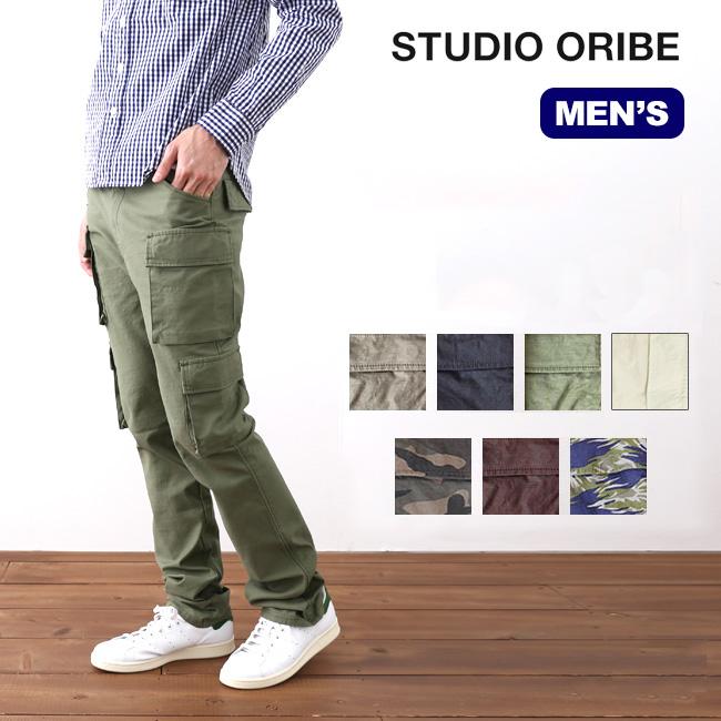 スタジオオリベ 8ポケットパンツ STUDIO ORIBE 8 POCKET PANTS メンズ ロングパンツ カーゴパンツ 長ズボン ボトムス