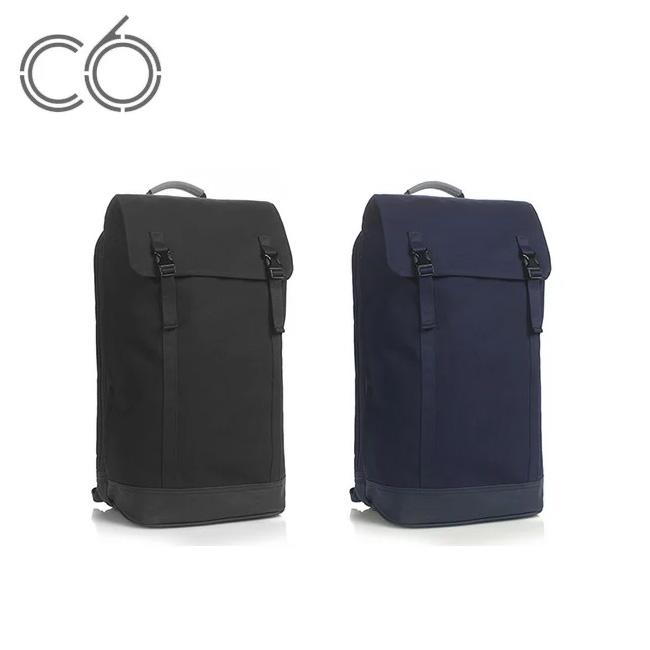 C6 シーシックス スリム バックパックキャンバス 【送料無料】 PC収納 ビジネス 出張 通勤 通学 旅行 スリム 背面収納 iPad iPhone