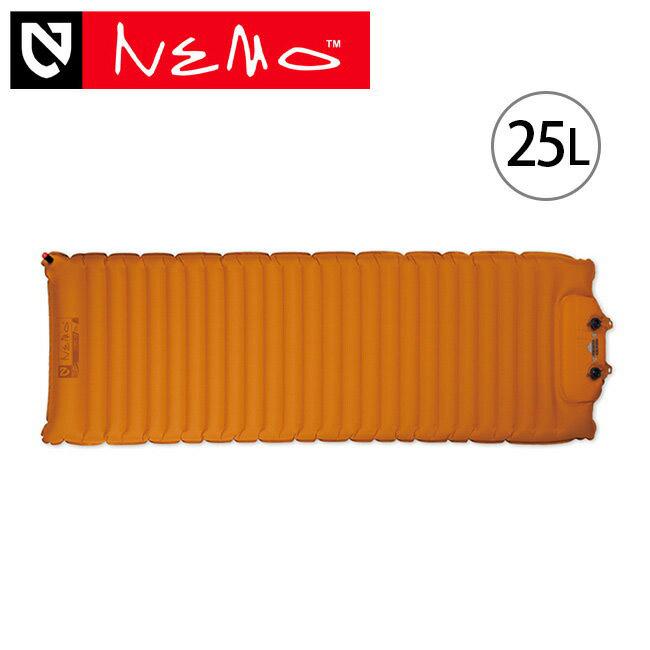 NEMO ニーモ コズモ 25L マット スリーピングパッド 寝具 スリーピングマット フットポンプ エアー 登山 キャンプ アウトドア NM-COSMO-25L