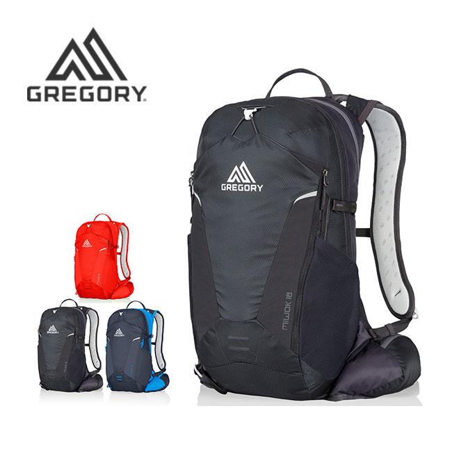 グレゴリー ミウォック18 GREGORY MIWOK 18 バッグ リュック バックパック トレラン トレイルランニング <2018 春夏>