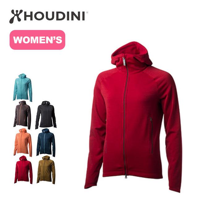 フーディニ HOUDINI ウィメンズ アウトライトフーディ 【送料無料】 Womens Outright Houdi トップス ジャケット アウター フリース ミッドレイヤー ミドルレイヤー レディース