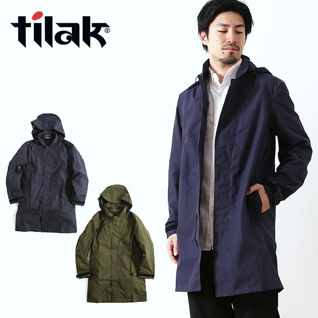 tilak ティラック ナイトベンタイルコート【送料無料】コート アウター ジャケット ナイトコート メンズ NIGHT Coat Ventile