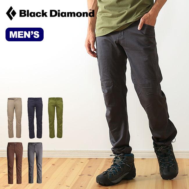 ブラックダイヤモンド クレードパンツ Black Diamond CREDO PANTS メンズ 【送料無料】 クレード パンツ ロングパンツ ロング ストレッチ オーガニックコットン 耐久 上部 クライミング BD67054 17FW