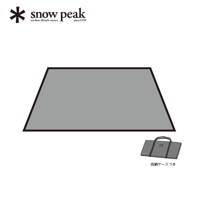 snow peak スノーピーク ヴァール Pro.air インナーマット2  【送料無料】 キャンプ テント シェルター 2人用 寝室 快適 オプション マット シート インナールーム インナーテント クッション