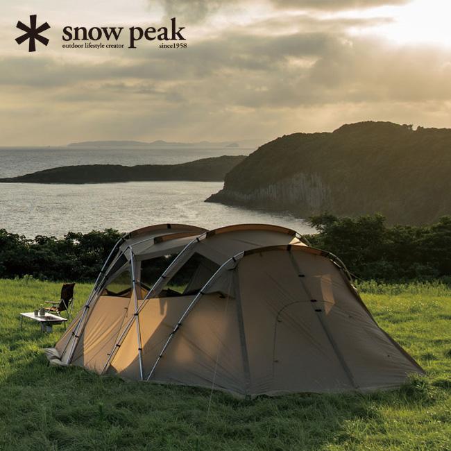 snow peak スノーピーク モーグ Pro.air  【送料無料】 キャンプ テント シェルター 6人用 寝室 快適 オプション インナールーム インナーテント ドッキング ヴァール ドックドーム