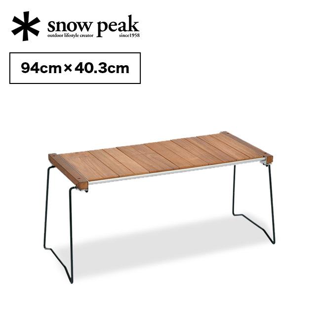 スノーピーク IGTスリム snow peak IGT Slim アイアングリルテーブルスリム 家具 アウトドア キャンプ バーベキュー CK-180 <2020 春夏>