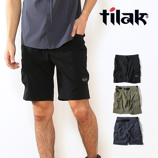 ティラック クラックLTショーツ 2.0 tilak CRUX LT Shorts 2.0 パンツ ショートパンツ ハーフパンツ 短パン アウトドア フェス 旅行 メンズ 男性 <2018 春夏>