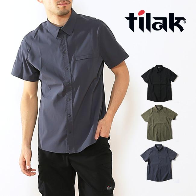 ティラック ナイトシャツ SS tilak KNIGHT Shirts シャツ 半袖シャツ 半袖 トップス 旅行 アウトドア メンズ 男性 <2018 春夏>