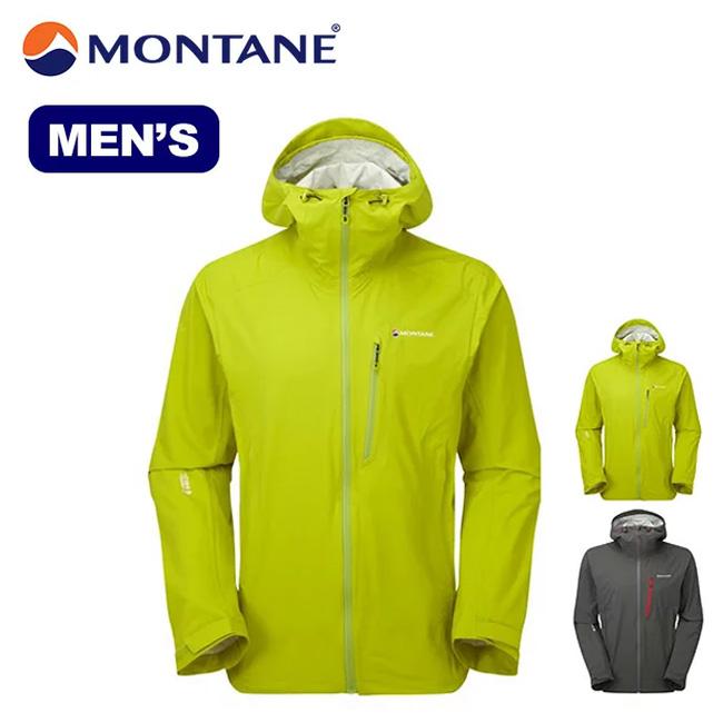 MONTANE モンテイン ミニマスストレッチジャケット  トップス ジャケット アウター シェル レインジャケット ウィンドシェル 男性 メンズ アウトドア 軽量 登山 クライミング トレッキング MINI