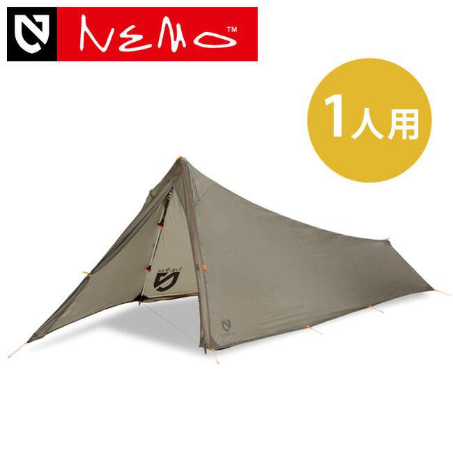 ニーモ スパイク 1P NEMO SPIKE 1P シェルター テント 1人用テント キャンプ アウトドア 野外 フェス 軽量 初心者 <2018 春夏>