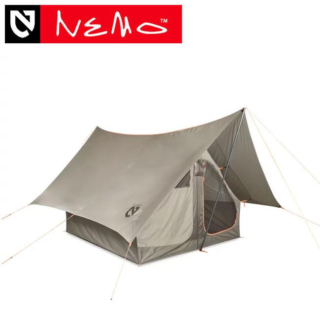 ニーモ ダークティンバー 4P NEMO DARK TIMBER シェルター タープ テント 4人用テント ハイブリッドシェルター NM-DTB-4P-ST <2018 春夏>