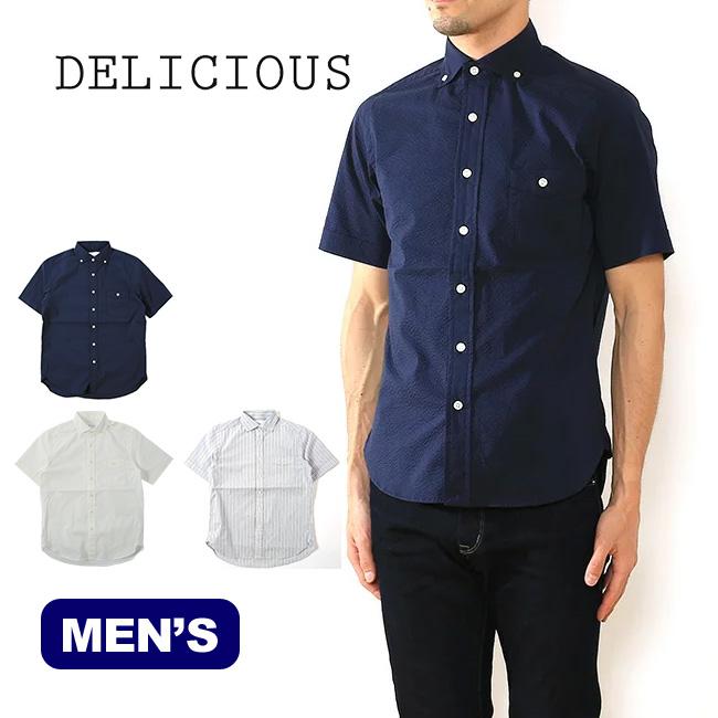DELICIOUS デリシャス プジョル ショートスリーブ 【送料無料】 DS0990 DS0915 トップス シャツ 半袖シャツ ショートスリーブシャツ メンズ 日本製