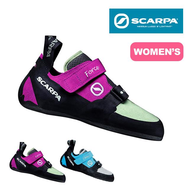 スカルパ フォース WMN SCARPA FORCE WMN ウィメンズ レディース 靴 シューズ ボルダリング クライミングシューズ ベルクロ 初心者向け sp17fw