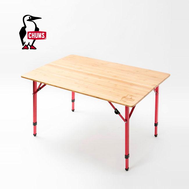 チャムス バンブーテーブル100 CHUMS BambooTable 100 折りたたみテーブル CH62-1207 <2018 秋冬>