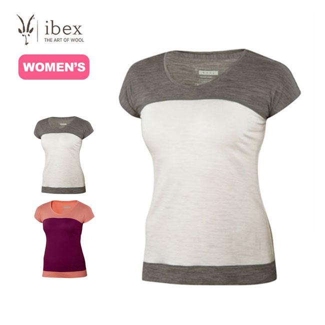 ibex アイベックスW2キネティックT 半袖 メリノウール Tシャツ ベースレイヤー