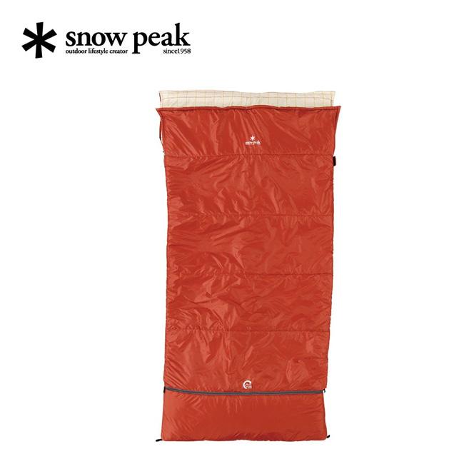 スノーピーク セパレートシュラフ オフトンワイド snow peak 寝袋 BD-103 <2018 春夏>