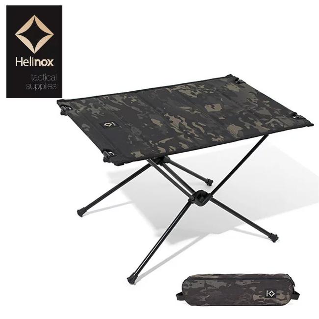 ヘリノックス ヘリノックス Tac タクティカルテーブルM Helinox Tactical table M マルチカモブラック テーブル キャンプテーブル 折り畳み コンパクト 軽量 迷彩 ブラックカモ <2018 春夏>