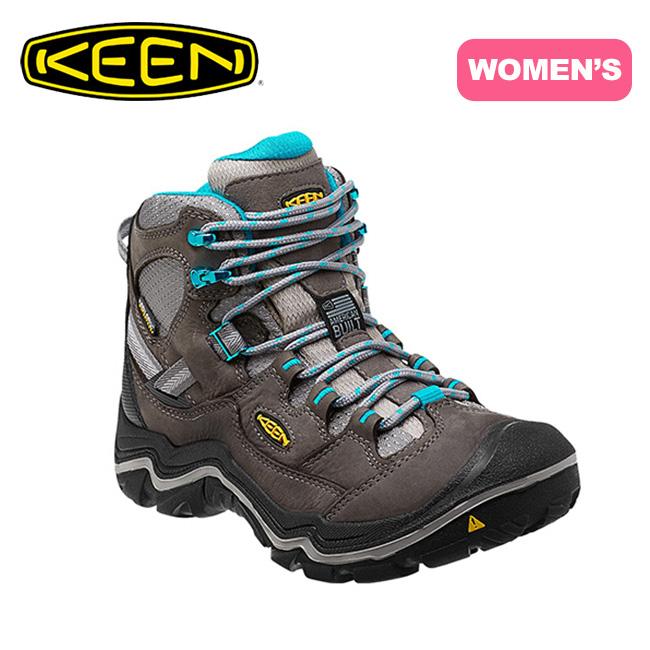キーン KEEN デュランドミッド WP ウィメンズ 【送料無料】 DURAND MID WP WOMEN 女性 ブーツ 靴 登山靴 クライミング ハイキング ミッドカット キャンプ トラベル サイクリング ウォーキング タウンユース カジュアル