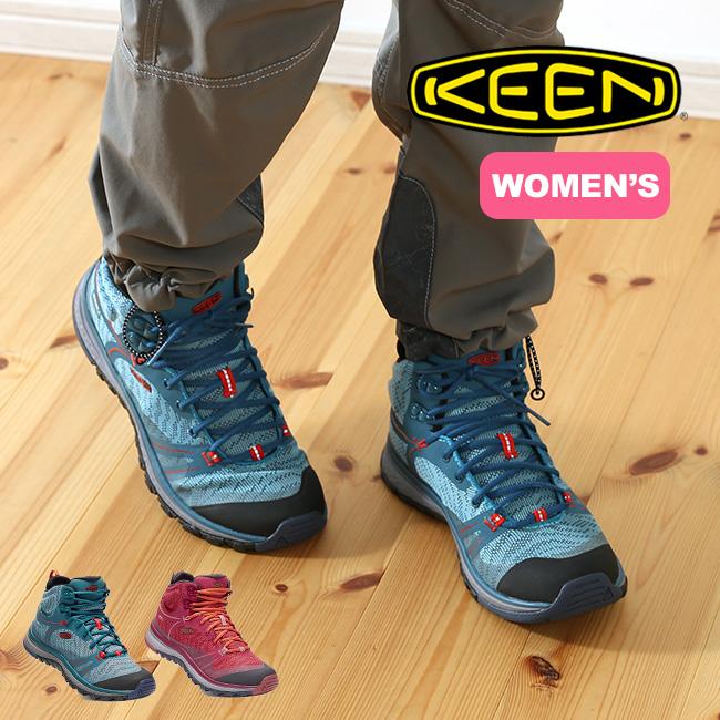 キーン KEEN テラドーラ ミッド ウォータープルーフ【ウィメンズ】  【送料無料】 靴 トレッキングブーツ ブーツ シューズ フィットネス 登山 スポーツ キャンプ 17FW