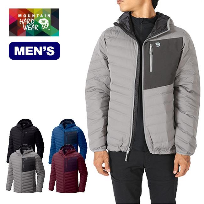 マウンテンハードウェア ステッチダウンフーデッドジャケット Mountain Hardwear StretchDown Hooded Jacket メンズ 【送料無料】 ジャケット ソフトシェル 17FW