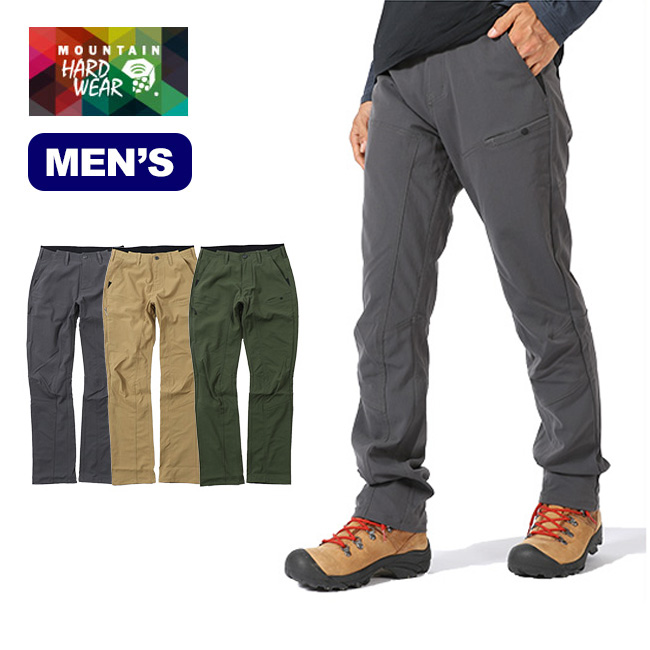 マウンテンハードウェア Mountain Hardwear MT6-U パンツ 【送料無料】 パンツ ロングパンツ ポケット キャンバス エラスティック アウトドア タウンユース 収納 メンズ 男性 17FW
