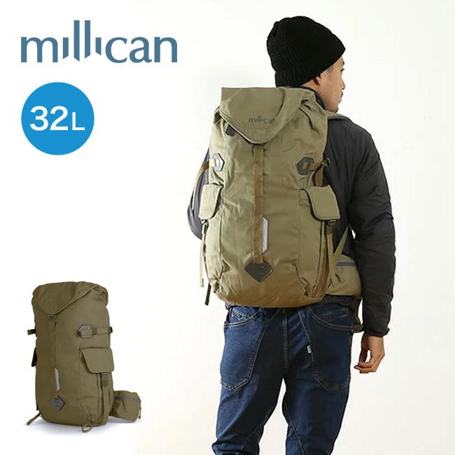 ミリカン millican フレイザーザラックサック 32L バックパック バッグ リュック リュックサック ラックサック 鞄 カバン 32L アウトドア デイリー 登山 M012