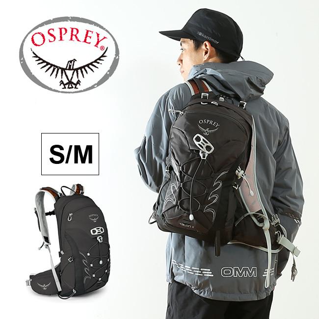 オスプレー OSPREY タロン 11 【送料無料】 バック バックパック リュック 軽量 ハイキング トレラン バイク 登山 S/M 9L ブラック 17FW