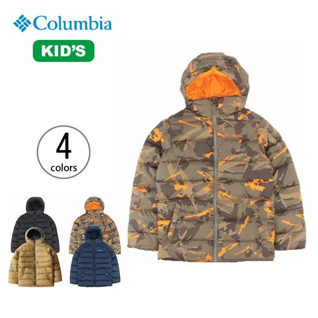<残りわずか!>コロンビア ビッグパフジャケット Columbia BigPuffJacket キッズ  ジャケット キッズ 子供 防風 防寒 ポリエステル ナイロン インシュレーテッド アウトドア タウンユース デイリー  17FW