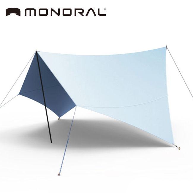 モノラル MONORAL スカイフィルム200 SIL SkyFilm200 アウトドア レジャー タープ キャンプ 防災 簡易テント UVカット 軽量 コンパクト 耐久撥水加工 MT-0033 <2018 秋冬>