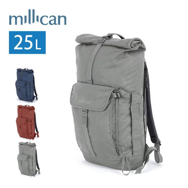 ミリカン millican スミス ザ・ロールパック 25L バッグ ロールトップ デイパック アウトドア 通勤 通学 タウンユース 25L